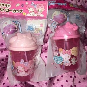 Hello Kitty & My Melody cups